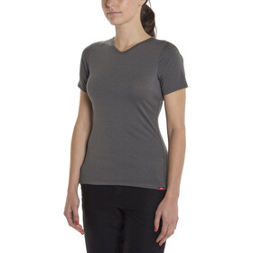 Giro Mobility T-shirt V-Neck Damer, dark shadow